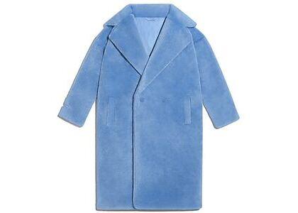 adidas Ivy Park Faux Fur Coat (All Gender) Light Blue (SS21)の写真