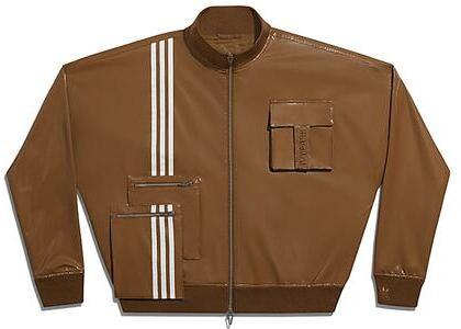 adidas Ivy Park Latex Track Jacket (All Gender) Wild Brown (SS21)の写真