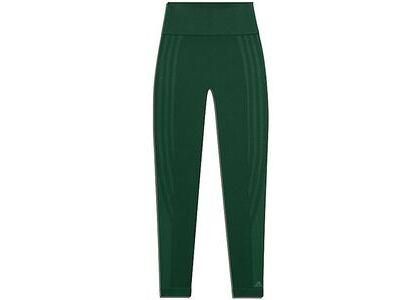 adidas Ivy Park Circular Knit 3-Stripes Tights Dark Green (FW20)の写真