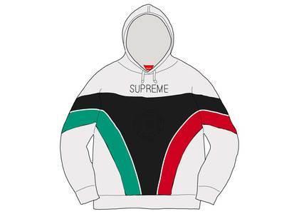 Supreme Milan Hooded Sweatshirt Whiteの写真