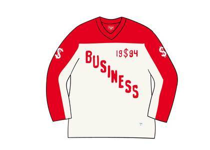 Supreme Business Hockey Jersey Whiteの写真