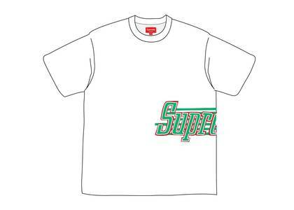 Supreme Side Logo S-S Top Whiteの写真