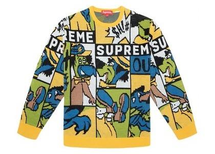 Supreme Cartoon Sweater Multicolorの写真