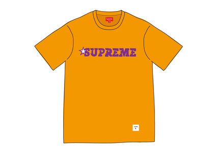 Supreme Star Logo S-S Top Orangeの写真
