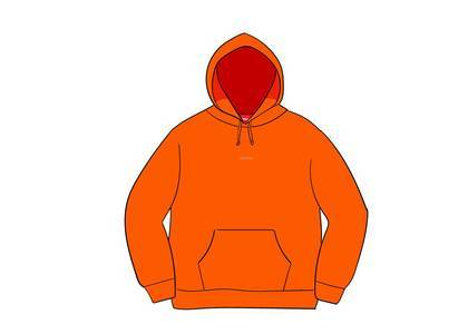 Supreme Digital Logo Hooded Sweatshirt Orangeの写真