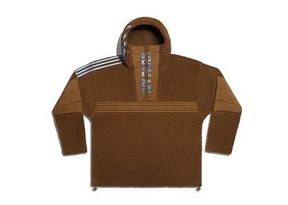 adidas Ivy Park 1/2 Zip Branded Teddy Jacket (All Gender) Wild Brown (SS21)の写真