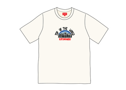 Supreme Top of the World S-S Top Naturalの写真