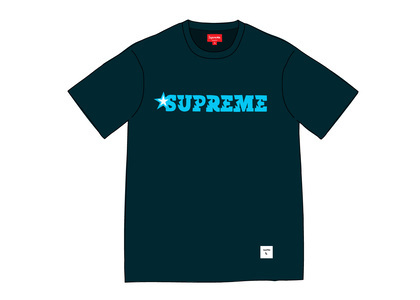 Supreme Star Logo S-S Top Navyの写真