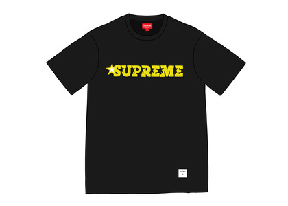 Supreme Star Logo S-S Top Blackの写真
