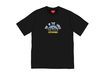 Supreme Top of the World S-S Top Blackの写真