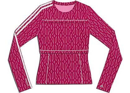 adidas Ivy Park Snap Monogram Top Bold Pink (SS21)の写真