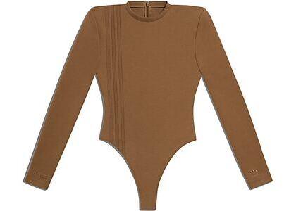 adidas Ivy Park 3-Stripes Bodysuit Wild Brown (SS21)の写真