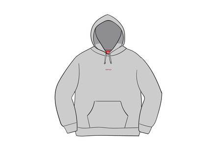 Supreme Digital Logo Hooded Sweatshirt Heather Greyの写真