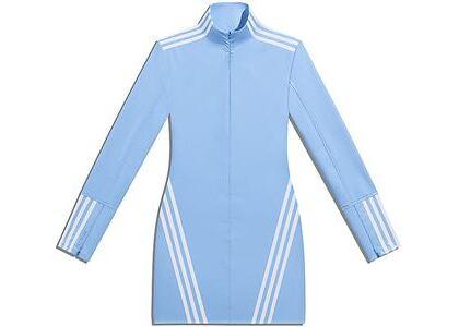 adidas Ivy Park 1/2 Zip Latex Dress Light Blue/White (SS21)の写真