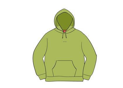 Supreme Digital Logo Hooded Sweatshirt Limeの写真
