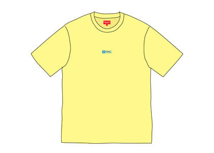 Supreme Invert S-S Top Light Yellowの写真