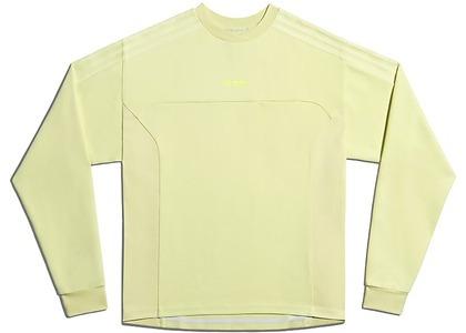 adidas Ivy Park Long Sleeve Crewneck Sweatshirt Gender Neutral Yellow Tint (FW20)の写真