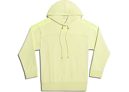 adidas Ivy Park Long Sleeve Hoodie Gender Neutral Yellow Tint (FW20)の写真