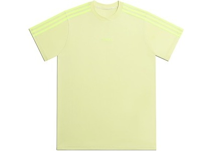adidas Ivy Park 3-Stripes Tee Gender Neutral Yellow Tint (FW20)の写真