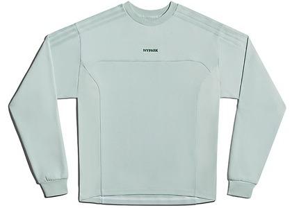 adidas Ivy Park Long Sleeve Crewneck Sweatshirt Gender Neutral Green Tint (FW20)の写真