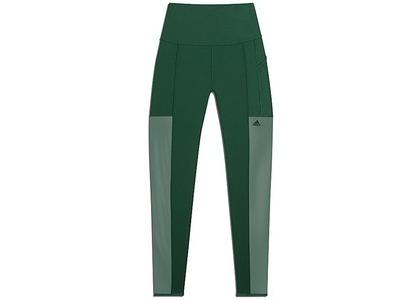 adidas Ivy Park 3-Stripes Mesh Tights Dark Green (FW20)の写真