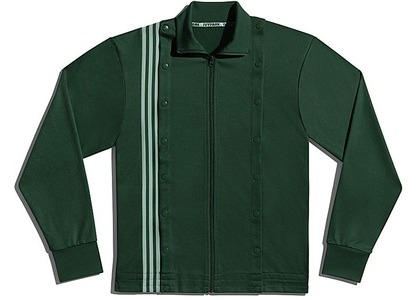 adidas Ivy Park 3-Stripes Track Jacket Gender Neutral Dark Green (FW20)の写真