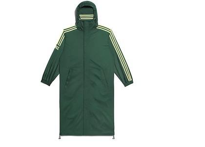 adidas Ivy Park Wind Jacket Gender Neutral Dark Green Hi-Res Yellow (FW20)の写真