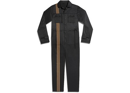 adidas Ivy Park 3-Stripes Jumpsuit Gender Neutral Black (FW20)の写真