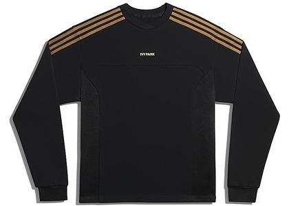 adidas Ivy Park Long Sleeve Crewneck Sweatshirt Gender Neutral Black (FW20)の写真