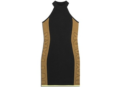 adidas Ivy Park Knit Logo Dress Black Mesa (FW20)の写真