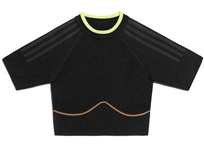 adidas Ivy Park Knit Crop Top Black Mesa (FW20)の写真