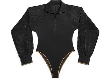 adidas Ivy Park Mesh Sleeve Bodysuit Black Mesa (FW20)の写真