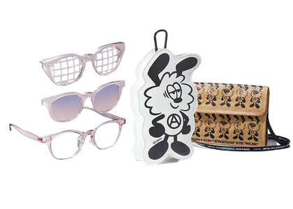 JINS&SUN × Verdy Limited Pouch Set Type D Pinkの写真