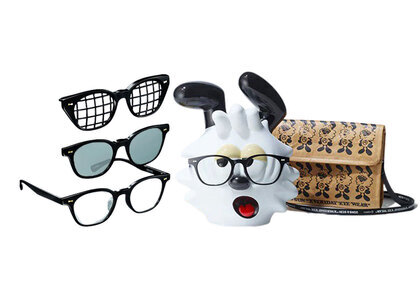 JINS&SUN × Verdy Limited Eyewear Stand Set Type D Blackの写真