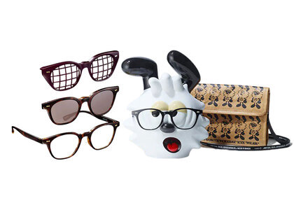 JINS&SUN × Verdy Limited Eyewear Stand Set Type D Brown Demiの写真