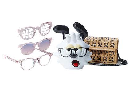 JINS&SUN × Verdy Limited Eyewear Stand Set Type D Pinkの写真
