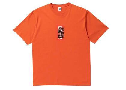 The Black Eye Patch Handle With Care Tee Orange/Red (SS21)の写真