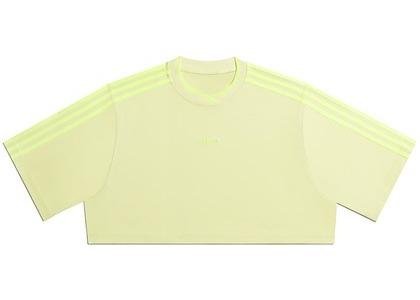 adidas Ivy Park 3-Stripes Crop Tee Yellow Tint (FW20)の写真