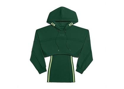 adidas Ivy Park Hooded Cutout Dress Dark Green (FW20)の写真