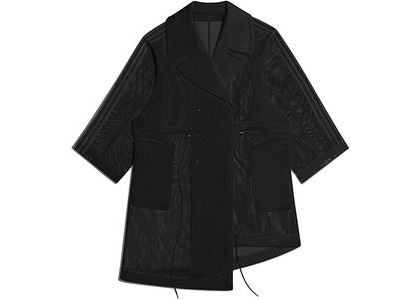 adidas Ivy Park Mesh Jacket Black (FW20)の写真