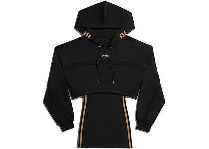 adidas Ivy Park Hooded Cutout Dress Black (FW20)の写真