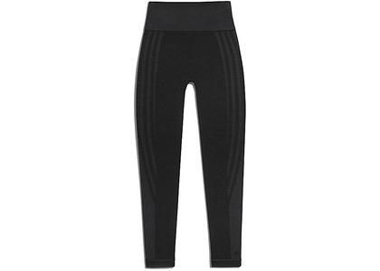 adidas Ivy Park Circular Knit 3-Stripes Tights Black (FW20)の写真