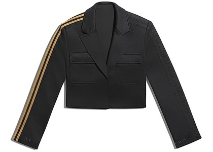 adidas Ivy Park Crop Suit Jacket Black/Mesa (FW20)の写真
