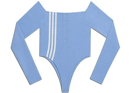 adidas Ivy Park Terry Bodysuit Light Blue (SS21)の写真