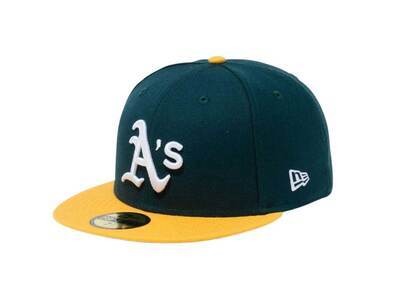 New Era 59Fifty Icy Side Patch Oakland Athletics Green (Blue Under Visor)の写真