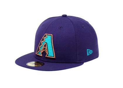 New Era 59Fifty Icy Side Patch Arizona Diamondbacks Purple (Blue Under Visor)の写真