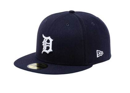 New Era 59Fifty Icy Side Patch Detroit Tigers Navy (Blue Under Visor)の写真