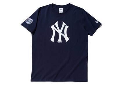 AWAKE NY × New Era New York Yankees Subway Series S/S T-Shirt Navyの写真