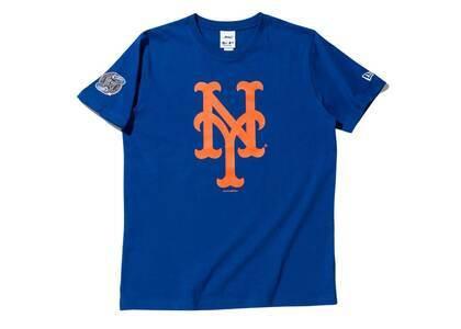 AWAKE NY × New Era New York Mets Subway Series S/S T-Shirt Blueの写真