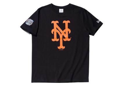 AWAKE NY × New Era New York Mets Subway Series S/S T-Shirt Blackの写真